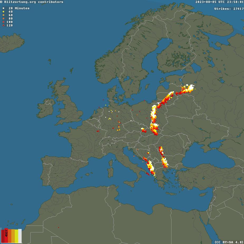 thunderstorm radar